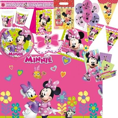 Minnie Mouse Party Supplies Tableware, Balloons & Decorations • 2.99£
