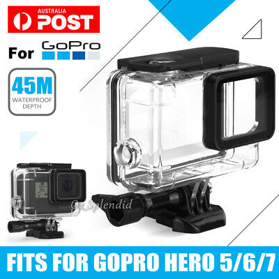 AU16.95 • Buy Waterproof Diving Black Camera Accessories 45m Housing Case For GoPro Hero 7 6 5