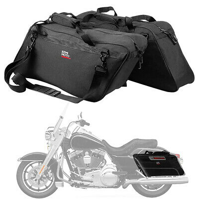 $49.99 • Buy Motorcycle Saddlebag Liners Travel Tour Pack Bag For Touring Glide Road King