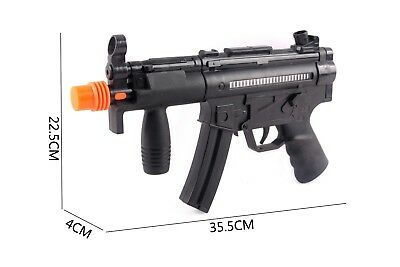 £9.99 • Buy New Army Military Assault Guns/Rifle MP5 With Laser Lights & Sound Kids Toy UK