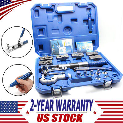 Universal Hydraulic Expander +Flaring Tool Brake Pipe Fuel Line+ Cutter US Stock • 337.88$