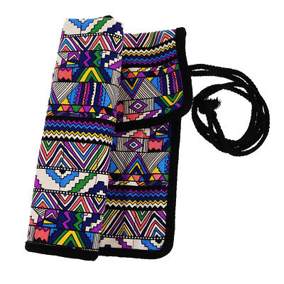 £6.15 • Buy National Style Artist Paint Brush Roll Bag Holder Canvas Pouch Storage Case