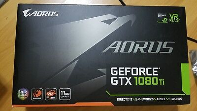 $ CDN1395.57 • Buy Opened Box Aorus GeForce GTX 1080 Ti 11g Nvidia Vr Ready