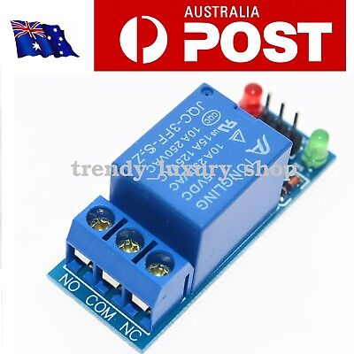 AU8.50 • Buy 5V Low Level Trigger 1 Channel Relay Module Interface Board Shield  PIC AVR DSP