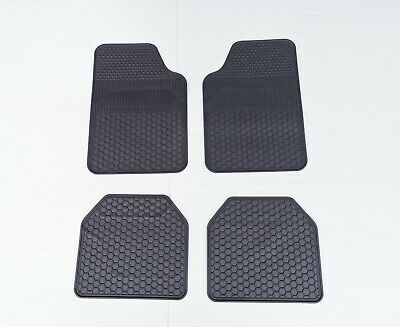 AU39.95 • Buy Universal Fit Rubber Carpet Car Floor Mats Rugged Heavy Duty All Weather