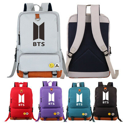$30.59 • Buy BTS / Bangtan Boys Kpop Backpack Tarvel Casual Rucksack Bookbag School Bag