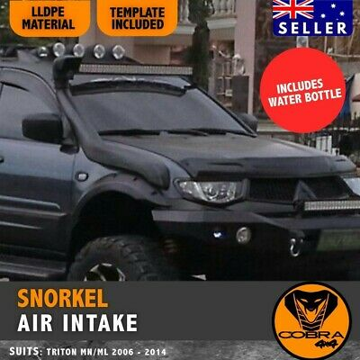 AU155 • Buy Snorkel Kit For MITSUBISHI TRITON ML MN 2006 - 2014 Overflow Bottle Air Intake