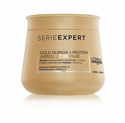 L'Oreal Serie Expert Gold Quinoa + Protein Absolut Repair Mask 250ml  • 12.99£