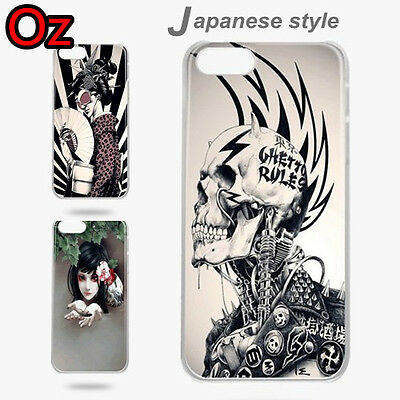 AU11 • Buy Japanese Style Case For OnePlus 5T, Quality Design Painted Cover WeirdLand