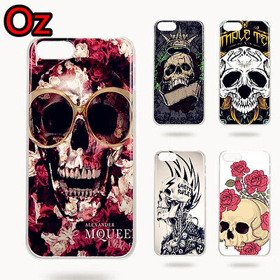 AU11 • Buy Art Skull Case For OnePlus 5T, Quality Design Painted Cover WeirdLand