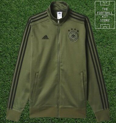 Germany 3S Track Top - Official Adidas DFB Football Jacket - Mens - All Sizes • 34.99£