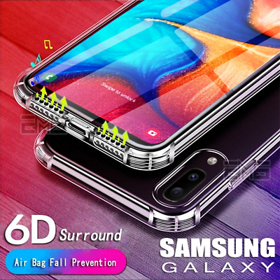 AU4.99 • Buy Samsung Galaxy A50 A20 A30 A70 J2 J5 J7 Pro Clear Case Shockproof Bumper Cover