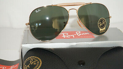 4720141c11 RAY BAN New Sunglasses Outdoorsman Gold Green G-15 RB3029 L2112 62 140 •  132.99