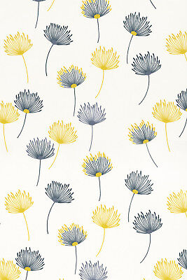 £54 • Buy Calista Citrus (Floral) Made To Measure Dim Out Roller Blind - Complete Blind