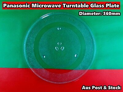 AU36 • Buy Panasonic Microwave Oven Glass Turntable Plate Platter 360mm (A200)