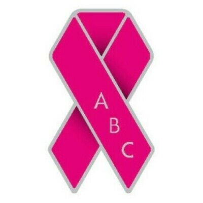 £1 • Buy Against Breast Cancer Pink Ribbon Pin Badge