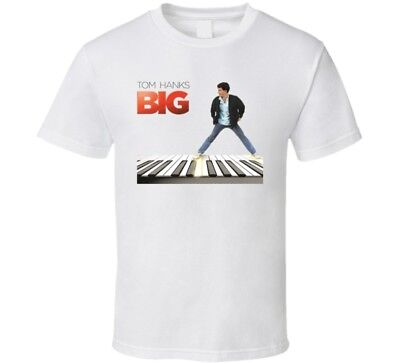 Big Tom Hanks 80's Retro Movie T Shirt  • 15.33£