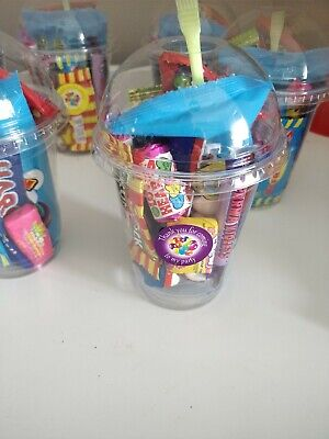 Pre Filled Sweet Cups Birthday Wedding Christening Party Favours Girls Boys  • 1.50£