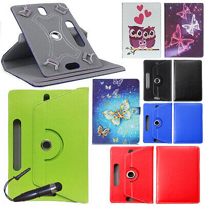 Universal Folio Flip Leather Case Cover For Android Tablet 7  8  9  9.7  10  Tab • 3.99£