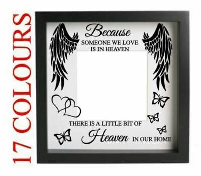 £3.99 • Buy Because Someone We Love Is In Heaven Decal Sticker Craft Box Frame DIY Memory