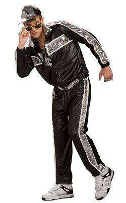 AU64.99 • Buy RAP IDOL PUBLIC ENEMY 90s RAPPERS TRACKSUIT FANCY DRESS BLING COSTUME