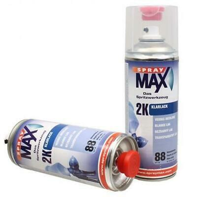 AU59.99 • Buy Spray Max Automotive Car 2K Component High Gloss Clear Coat 400ml