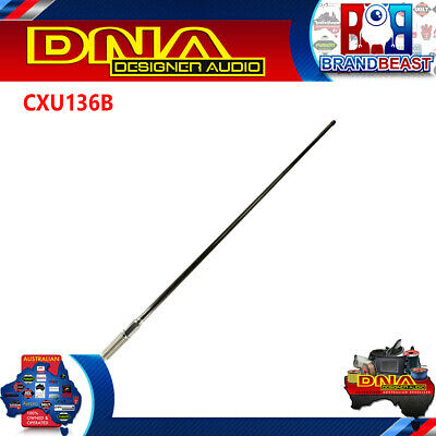 AU195.50 • Buy DNA CXU136B 6dB 1.3m Heavy Duty UHF Antenna - Black
