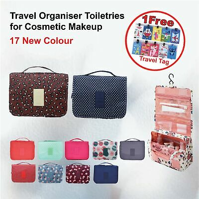 AU8.54 • Buy 17 New Color Portable Compact Travel Organiser Toiletries For Cosmetic Makeup