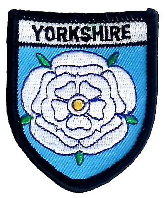 £4 • Buy Yorkshire Small Embroidered Patch