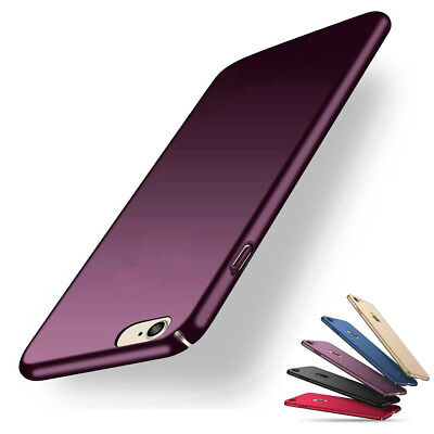 AU6.64 • Buy Slim Thin Cover Hard Back Case For Apple IPhone 8 7 Plus