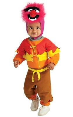The Muppets Animal Infant Toddler Boys Girls Fancy Dress Halloween Costume • 18.57£