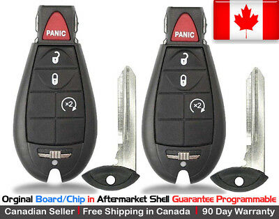 $ CDN129.95 • Buy 2 OEM New Replacement Keyless Entry Remote Key Fob For Dodge Ram