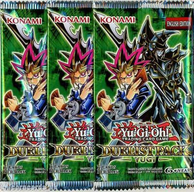 YuGiOh! Duelist Pack Yugi UNL Edition New And Sealed Booster Packs X3 • 12.93£