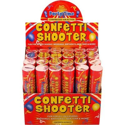 £5.99 • Buy 20cm  Confetti Shooter Compressed Air Cannon Party Wedding CHOOSE AMOUNT