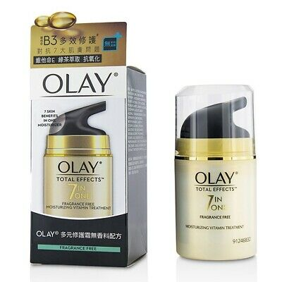AU49 • Buy Olay Total Effects 7 In 1 Fragrance Free Moisturizing Vitamin Treatment 50g Mens