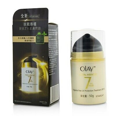 AU49 • Buy Olay Total Effects 7 In 1 Fragrance Free UV Protection Treatment SPF15 50g Mens