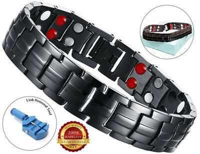 Magnetic Health Bracelet Carpal Tunnel Arthritis Bio Therapy Chronic Pain Relief • 14.79£