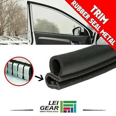 $21.99 • Buy Rubber Door Seal Trim Weather Strip Door Protecting Edge Automobiles Parts 10ft