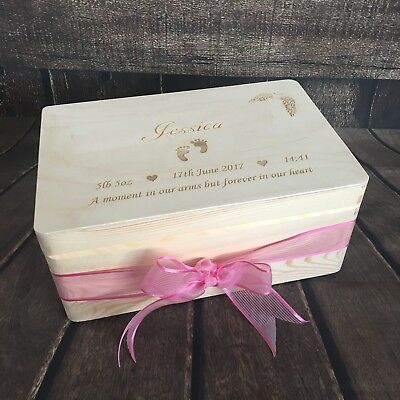 £19.99 • Buy Angel Baby Memorial Box Infant Loss Miscarriage Keepsake Remembrance