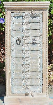 AU750 • Buy Indian Antique Door Wardrobe Cupboard Storage Vintage Statement Cabinet