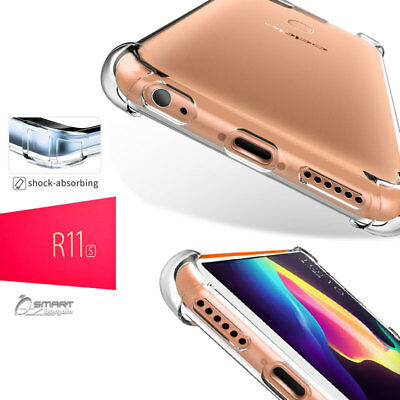 AU4.99 • Buy Clear Bumper TPU Gel Jelly Flexible Case Cover For Oppo R11s / R11s Plus