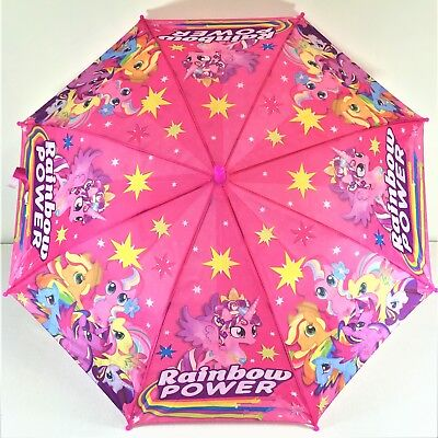 AU14.99 • Buy Umbrella Kids Girls Water Proof Pink My Little Pony Cue Au Stock