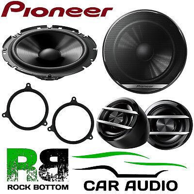 Pioneer For Toyota Avensis 2003-2009 600W Component Rear Car Speakers • 59.99£