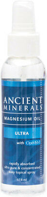 Ancient Minerals Magnesium Oil Ultra + MSM 118ml • 16.61£