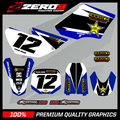 AU183.99 • Buy Custom MX Graphics Kit: YAMAHA YZ 85 2002 - 2020 - ROCKSTAR