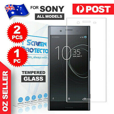 AU4.75 • Buy 2X For Sony Xperia XZ Premium A1 XA2 Tempered Glass Screen Protector Film Guar