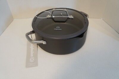 $ CDN134.18 • Buy Calphalon 5qt Dutch Oven WLid Simply Easy System Nonstick Anodized Aluminum Gray