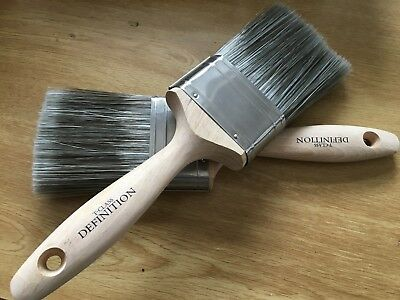 £16.45 • Buy 2 X 3  75mm HARRIS T CLASS DEFINITION PAINT BRUSHES GLOSS STAIN VARNISH TRADE