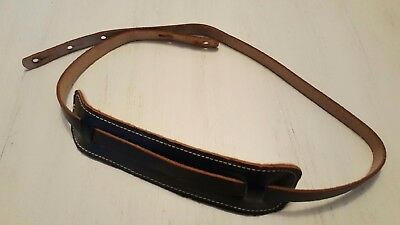 $ CDN78.90 • Buy Vintage Leather Acoustic/Electric Guitar Strap 46