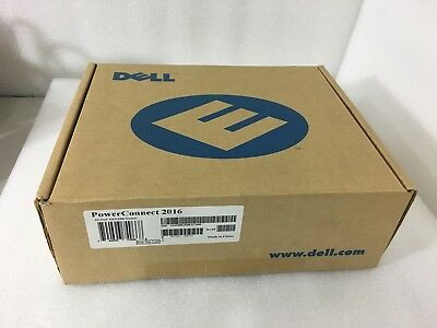 $55 • Buy Brand New DELL POWERCONNECT 2016 10/100 ETHERNET SWITCH